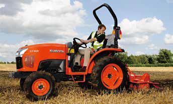 Nuevo Tractor compacto ST