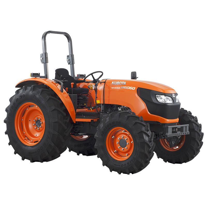 Tractores M6060 DTH - KUBOTA