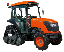 Tractors M8540 DTN Power Crawler - KUBOTA