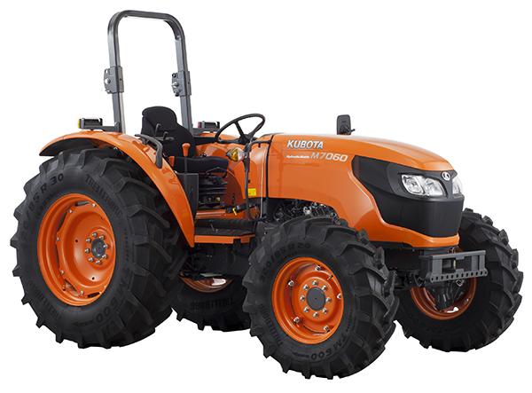 Tractores M7060 DTH - KUBOTA