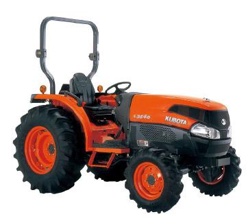 Tractores L3540 Arco - KUBOTA