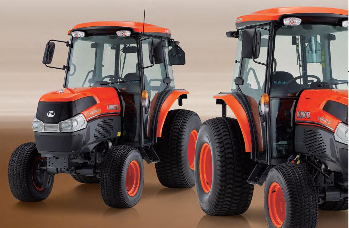 Tractores L4240 Arco - KUBOTA