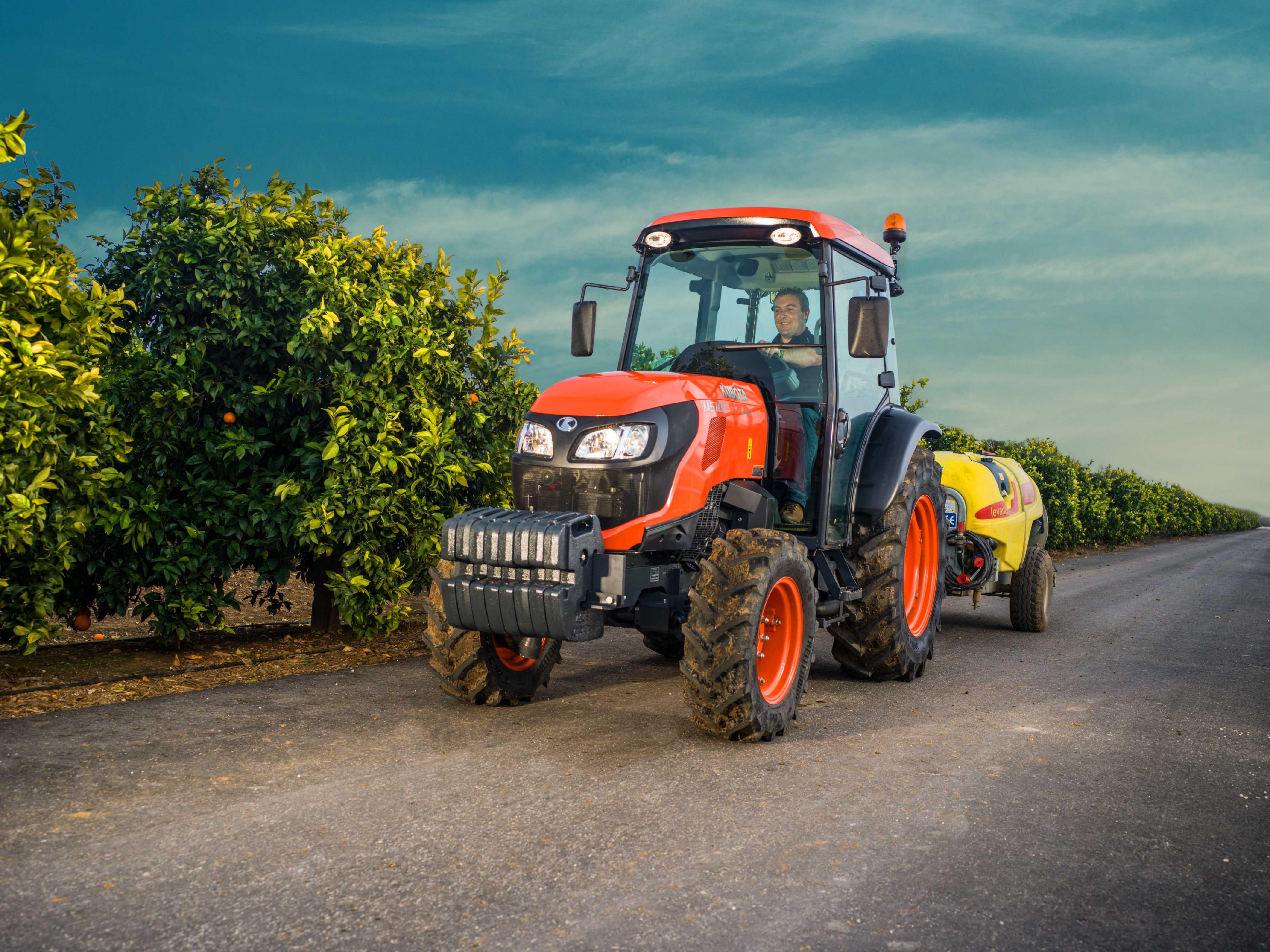 Tractores M5001 Narrow - KUBOTA