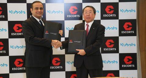 Acuerdo entre Escort y Kubota