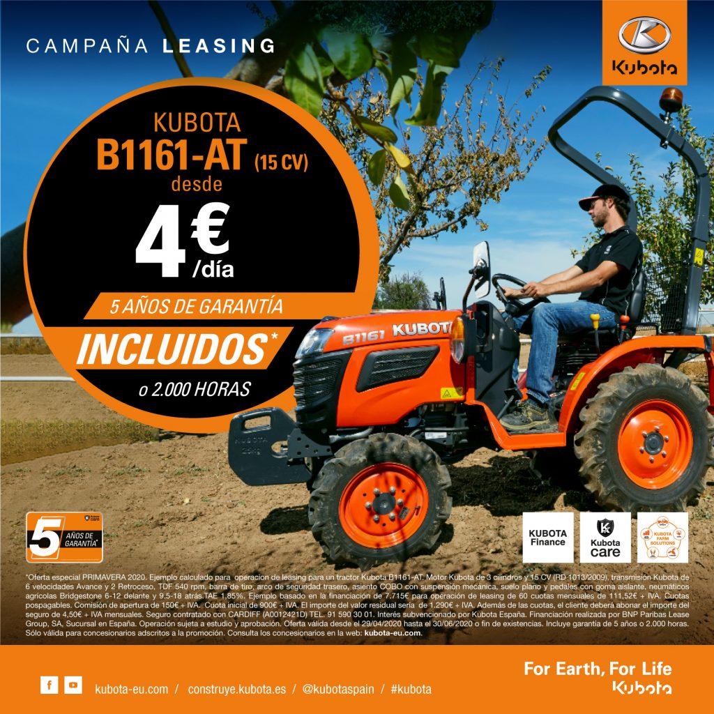 Oferta tractor leasing